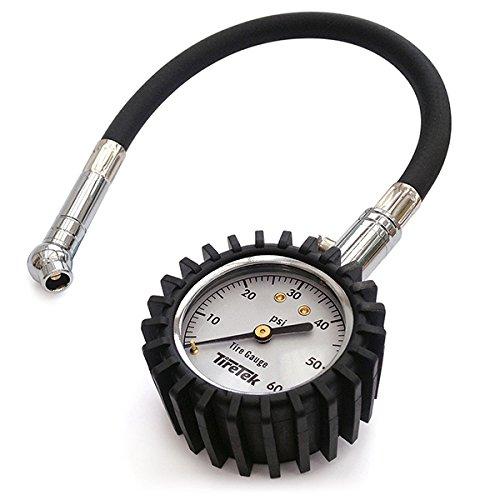TireTek Tire Gauge 0-60 PSI - Tire Pressure Gauge for Truck,...