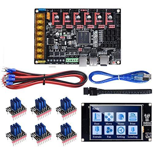 TONGDAUR TFT35 Touch Screen V2.0+ SKR Pro V1.1 Control Board +6Pcs TMC2208 V3.0 UART Driver Kit for 3D Printer Part Reprap