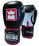 Montana Gants de Boxe Sparring 16 oz Mixte Adulte, Noir