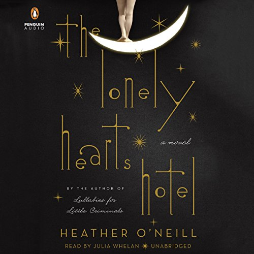 The Lonely Hearts Hotel audiobook cover art