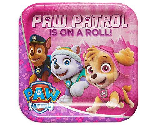 Amscan International Plaque Papier 551665 23 cm Paw Patrol