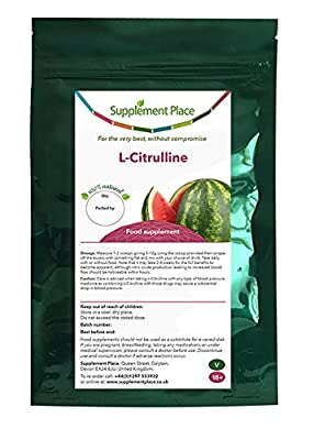 Supplement Place L-Citrulline Powder, 1kilogram SuperSaver