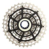 DAUERHAFT Fahrradschwungrad Anti-Rost 11-Gang 36T Hollow Out Metal, für 11-Gang-Fahrrad