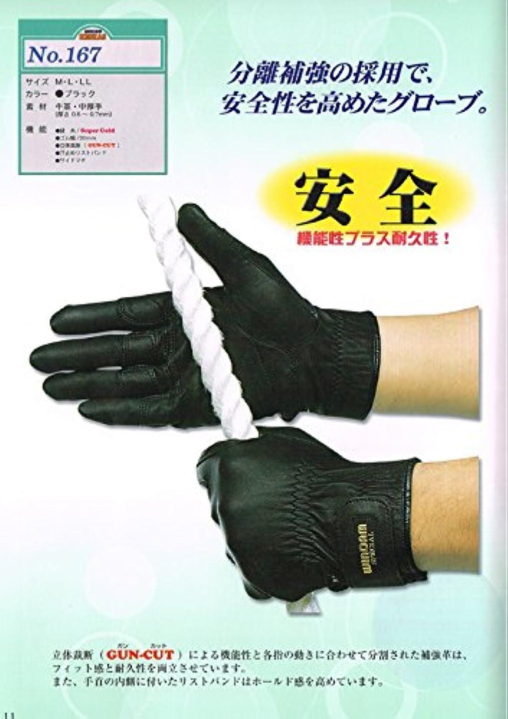 プーノ福祉振り子レスカス No.167 Lサイズ 消防_救助手袋_日本グローブサービスRESKAS