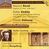Debussy: Fantasie for Pno & Orch by CONCERTGEBOUW ORCH / MENGELBERG