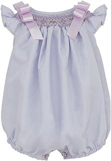 Marakitas Baby & Toddler Girl Smocked Sleeveless Romper Jumpsuit - Handmade Embroidery - 100% Cotton