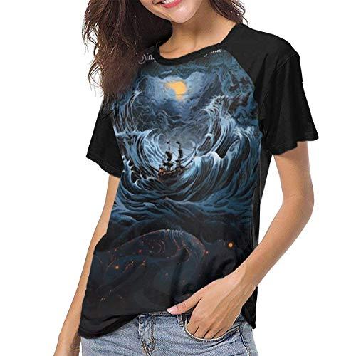 Kmehsv Damen Kurzarm T-Shirts mit Rundhalsausschnitt, Sturgill Simpson Womans Women's Baseball Short Sleeves Sport Short Sleeve Music Tee Shirt