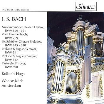 Bach: Prelude and Fugue Bwv 541 & Bwv 547/ Schübler Chorales Etc
