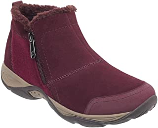 Easy Spirit Women's Embark Boots Dark Red 9