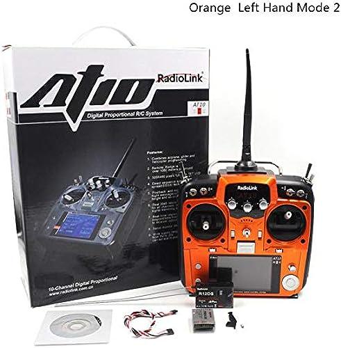 CatcherMy RadioLink AT10 II 2.4G 12CH RC Sender & R12DS Empfänger PRM-01 für RC Drone