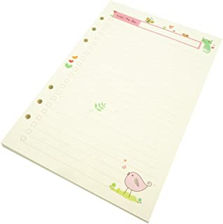 A5 Planner Inserts, to do List Planner Refill,to Do Paper, Harphia(A5, 45 Sheets to do List) 8.26''x5.5''