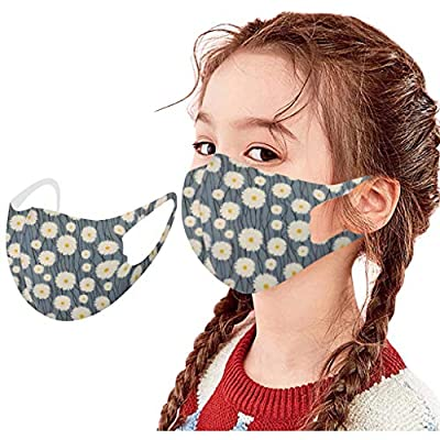 ?USA in Stock Fast Delivery ? Kids Cute Face_Masks Reusable and Washable Face Covering Haze Dustproof Protective Covering Suit for Childrens