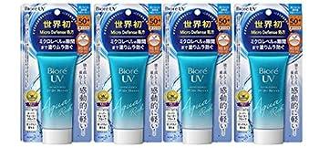 Biore UV Aqua Rich Watery Essence SPF50+/PA++++ 50g/1.75oz  set of 4