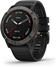 Garmin Fenix 6X saffier smartwatch Leigrijs/Zwart, 010-02157-11