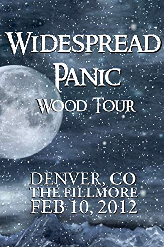 Widespread Panic: Wood Tour - Denver, CO The Fillmore February 10, 2012