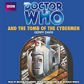 Doctor Who and the Tomb of the Cybermen audiobook cover art