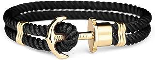 PAUL HEWITT Bracelet Homme & Femme PHREP Ancre - Bracelet Cordage Nautique en Nylon, Cadeau Homme & Femme, Bracelet Ancre ...