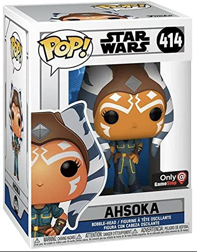 POP Funko 52352 Star Wars: The Clone Wars - Ahsoka Exclusive Special Edition # 414
