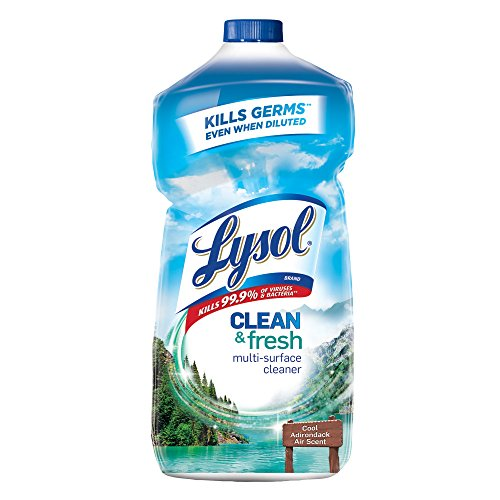 Lysol Power and Fresh All Purpose Cleaner, Waterfall Splash & Mineral Essence, 40 Ounce