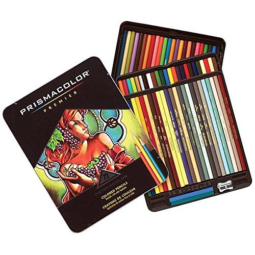 Prismacolor 3599TN Premier Colored Pencil, 2H, 72 Assorted Colors/Set -  SANFORD, SAN3599TN