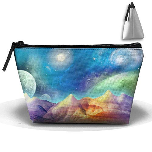 Basketball3 Cosmetic Bags Travel Toiletry Pouch Portable Trapezoidal Storage Pencil Holders