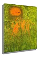 2つの惑星が追求する髪ジョアン・ミロ 油絵 複製画 絵画 インテリア アートフレーム 複製絵 絵画 プレゼント-リビング、ダイニング、寝室、お風呂、オフィス、バー(50x75cm-20x30インチ、フレーム)