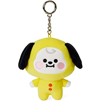BT21 Official Merchandise by Line Friends - Baby Series Character Plush Figure Keychain Ring Bag Charm