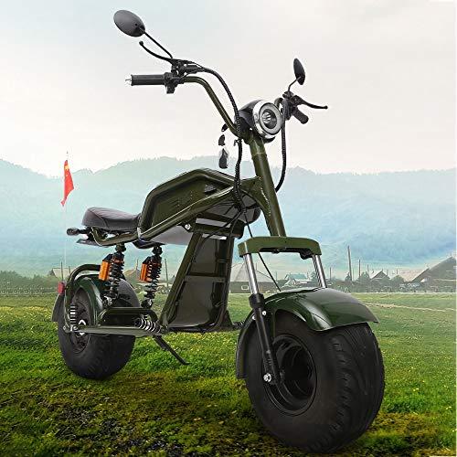 MRMRMNR Bicicleta Paseo Electrica para Adultos 1000W Scooter Electrico 60V12A Bicis Montaña...