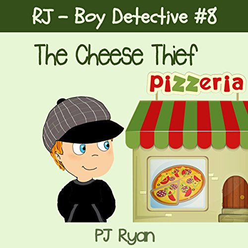 RJ - Boy Detective #8: The Cheese Thief Titelbild