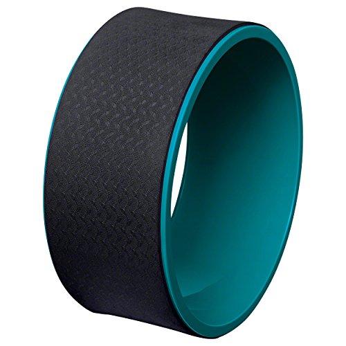 Deuser Wheel groß, Accessorio per Yoga. Unisex-Adulto, Nero, Taglia Unica