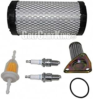 EZGO Txt/St 350 Gas Golf Cart Tune Up Kit (1996-Up) With Oil Filter