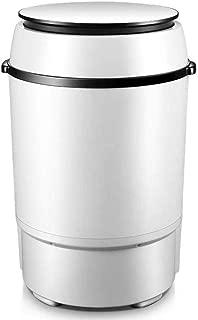 YHLZ 6kg Elution Integrated Single Barrel Mini Washing Machine Small Household Baby Child Semi-Automatic 2-in-1 Infant Washing Machine 4kg Washing Capacity 2kg Drying Capacity