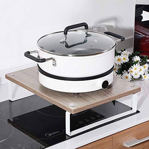 Casa Cocina microondas Horno de leña Estante Estufa de
