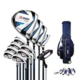 Club de Golf, Juego de Palos de Golf, Adecuado para Jugadores Masculinos de Nivel básico de Golf, 12, selección de Nivel S/R