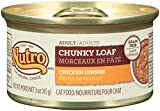 DISCONTINUED: NUTRO Chunky Loaf Adult Wet Cat Food, Chicken, 3 oz. (Pack of 24)