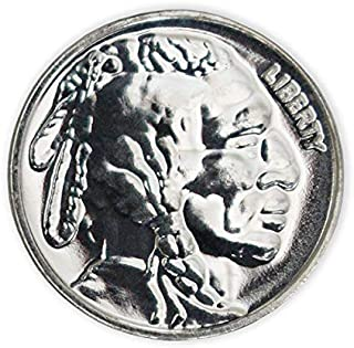 1/10 Oz Buffalo Silver Round.999 Pure