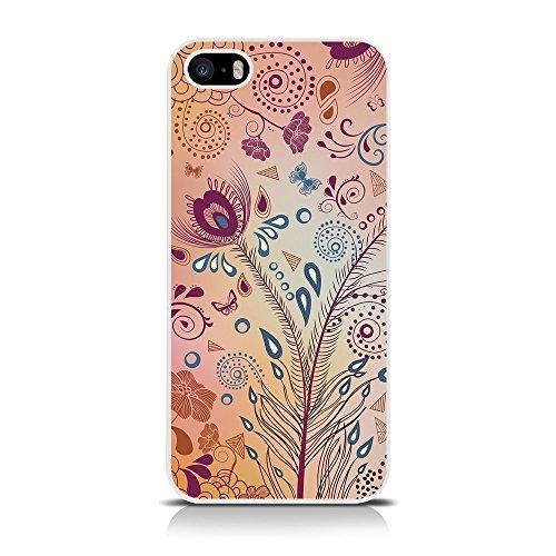 Call Immagine: Summer Meadow-Cover Rigida per Apple iPhone, SE/5s/5, Colore: Multicolore