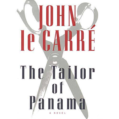 The Tailor of Panama audiobook cover art