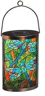 New CreativeSolar Glass Lantern (Dragonfly)