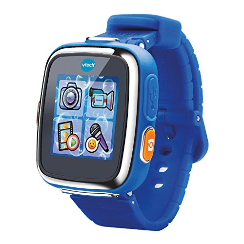 VTech – 171605 – Kidizoom Smartwatch für Kinder, Connect DX – blau