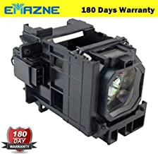 Emazne NP06LP/60002234 Projector Replacement Compatible Lamp with Housing for NEC NP1150 NEC NP1150G2 NEC NP1200 NEC NP1250 NEC NP1250G2 NEC NP2150 NEC NP2150G2 NEC NP2200 NEC NP2250 NEC NP2250G2