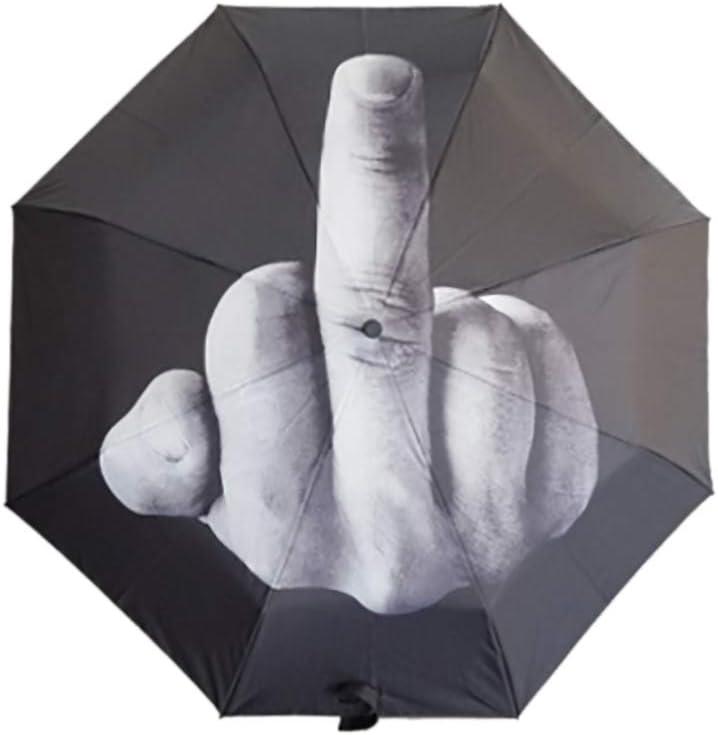3 Folding Middle Finger Umbrella Travel Golf U Ranking TOP6 Rain - Recommendation