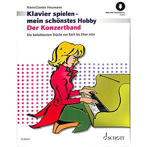 KONZERTBAND - arrangiert für Klavier - mit CD [Noten / Sheetmusic] aus der Reihe: KLAVIERSPIELEN MEIN SCHOENSTES HOBBY