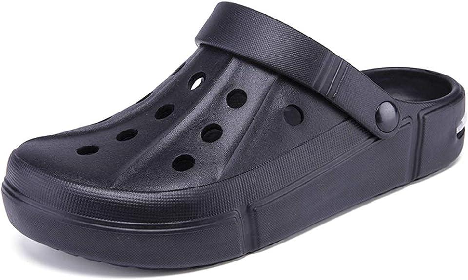 Amyneo Unisex Women Men Clogs Garden Clog Slip On Beach Sandals Water Shoes