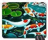 Yanteng Cojín de ratón temático del Juego de los Pescados, cojín de ratón, Mousepad