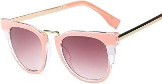KUANDAR GLA - Gafas de Sol para niños, Protección UV, Montura Cómoda con, Gafas De Sol De Aviador, UV400 Gafas,para Niños con Montura de Metal-Acero Fino