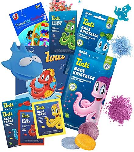 TINTI Bade Express Lot de pastilles de bain pour enfant