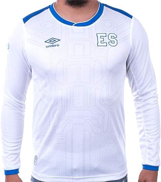 Umbro El Salvador Home Jersey 17//18 Blue//White
