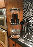 The Water Machine with 2 Black Carbon Filters Gravity-Fed Purification Elements System