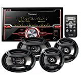 PIONEER FH-X720BT CD RECEIVER CD BLUETOOTH + PIONEER TS-695P 3-WAY 230 WATT SPEAKER SET+ PIONEER TS-165P 2-WAY 200 WATT SPEAKER SET